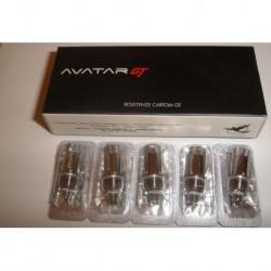 Résistances Avatar GT/GT-R 0.8 ohm - 5 pièces