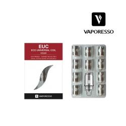 Pack 5 résistances Vaporesso Ceramic EUC SS316L