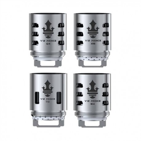 3 x tête évaporateur SMOK TFV12 Prince-Q4 0,4 ohms