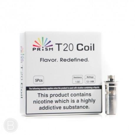 Pack résistances 5 x  Innokin T20 1,5 ohms