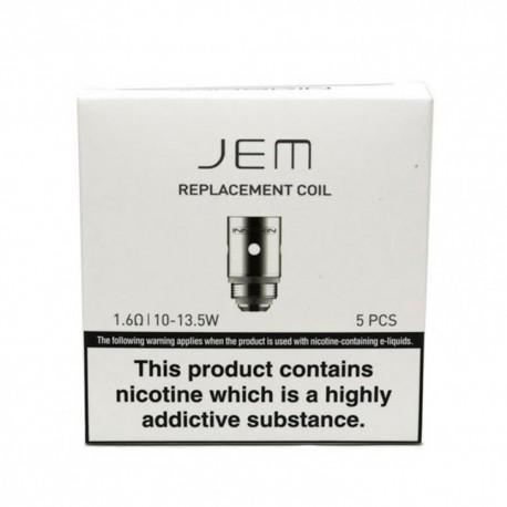 Pack résistances 5 x  INNOKIN JEM / GOBI, 1,6 ohms