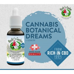 Merlin's Garden - Botanical Dreams + Lemon Liquid  mit CBD