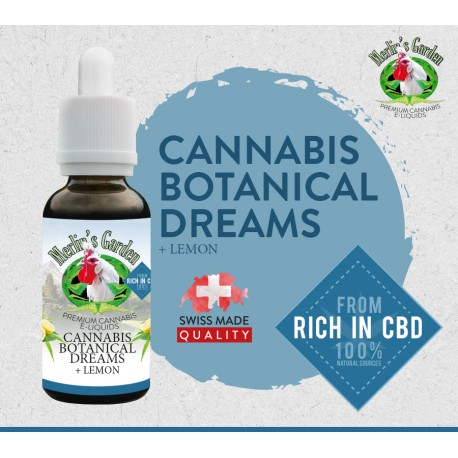 Merlin's Garden - Botanical Dreams + Citron Liquid   CBD