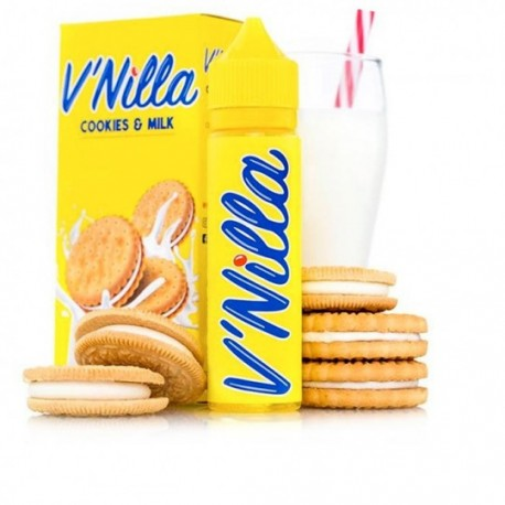 E-Liquid V'NILLA Cookies & Milk, 60ml
