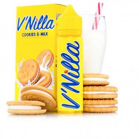 E-Liquide V'NILLA Cookies & Milk, 60ml