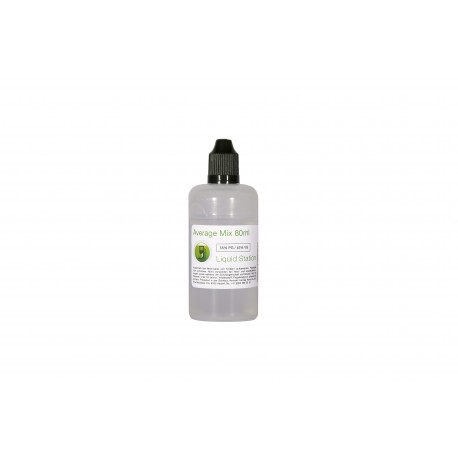 Liquid Station Moyenne Mix 80 ml - 55PG / 45VG