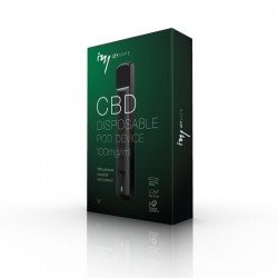 IzyVape Kit  de CBD à usage unique, 100 mg / ml