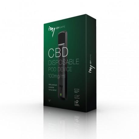 IzyVape Kit  de CBD à usage unique, 100 mg / ml