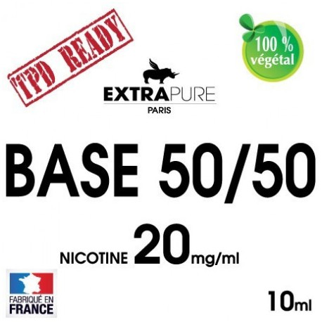 BOOSTER 20MG (50%PG / 50%VG) - EXTRAPURE | 10ML