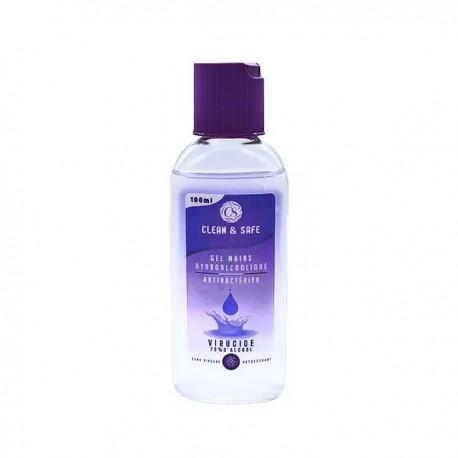 Gel Hydro Alcoolique 100ml - Clean & Safe
