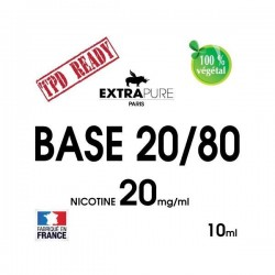 BOOSTER Nicotine 20MG (20%PG / 80%VG) - EXTRAPURE  10ML