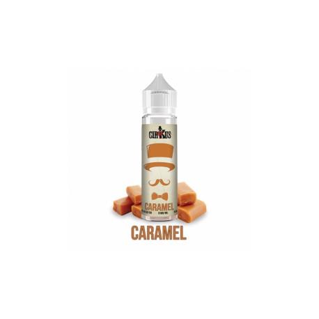 E-LIQUIDE CARAMEL - SHORTFILL FORMAT - CIRKUS AUTHENTIC - VDLV - 50ML