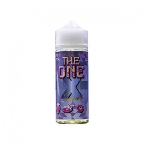 E-LIQUIDE STRAWBERRY - SHORTFILL FORMAT - THE ONE X SERIES BY BEARD VAPE - 100 ML