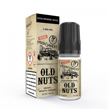 E-LIQUIDE OLD NUTS - MOONSHINERS -10ML